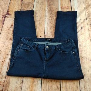 Kensie Jeans Dark Blue Wash sz 10 30 waist